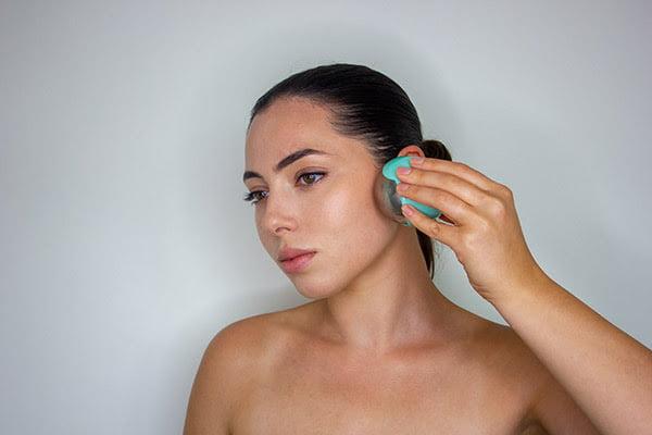 Cryo gezichtsmassage